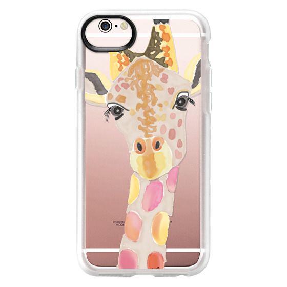 iPhone 6s Cases - Giraffe In Pink