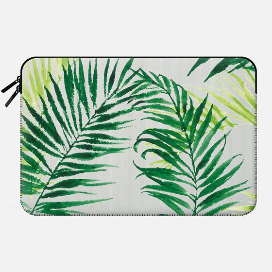 PALM TREES big - Macbook Sleeve