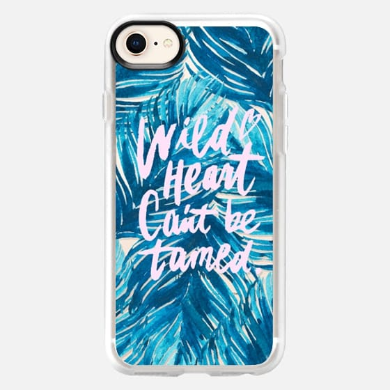 Wild Heart Can't Be Tamed - Snap Case