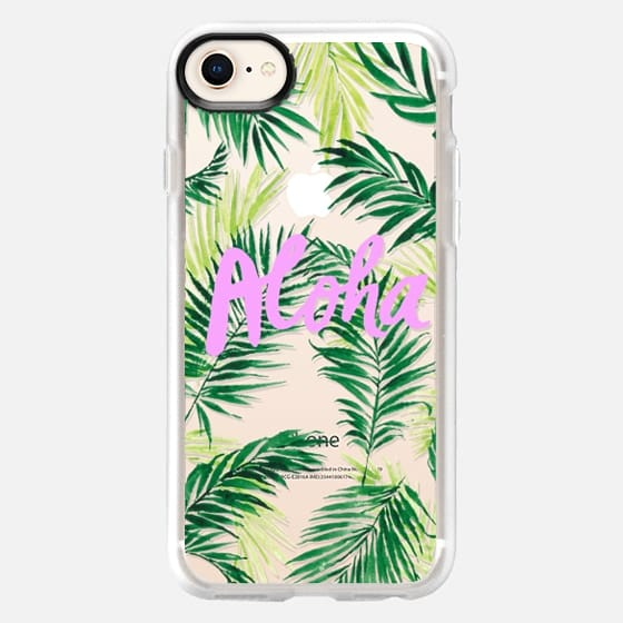 Aloha Palm Trees MINI - Snap Case