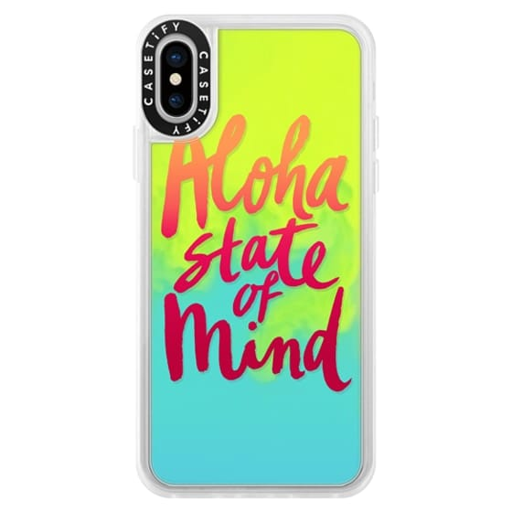 iPhone X Cases - Aloha State of Mind