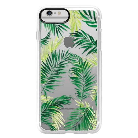 iPhone 6 Plus Cases - Under the Palm Trees