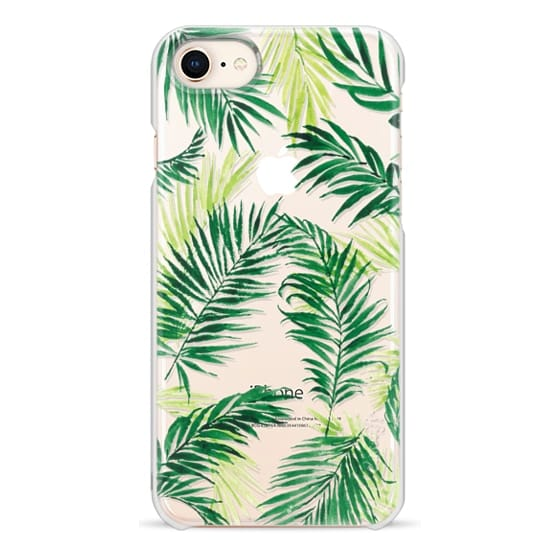iPhone 8 Cases - Under the Palm Trees