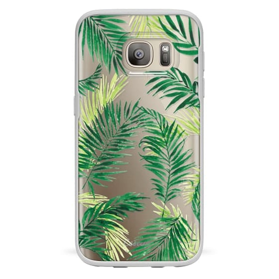 Samsung Galaxy S7 Cases - Under the Palm Trees