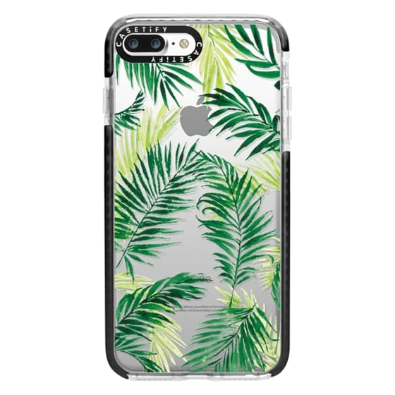iPhone 7 Plus Cases - Under the Palm Trees