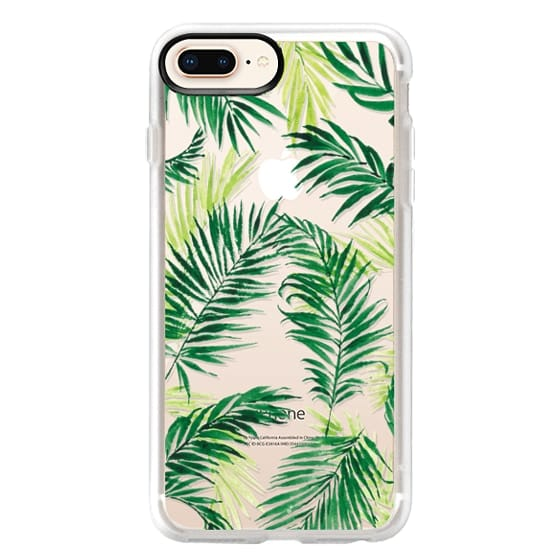 iPhone 8 Plus Cases - Under the Palm Trees