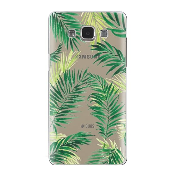 Samsung Galaxy A5 Cases - Under the Palm Trees