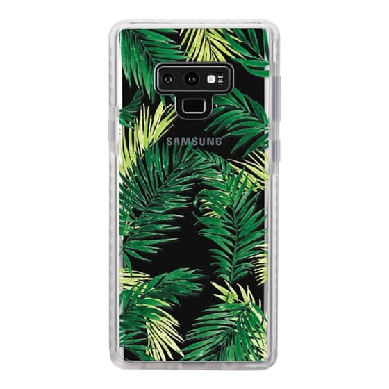 Samsung Galaxy Note 9 Cases - Under the Palm Trees