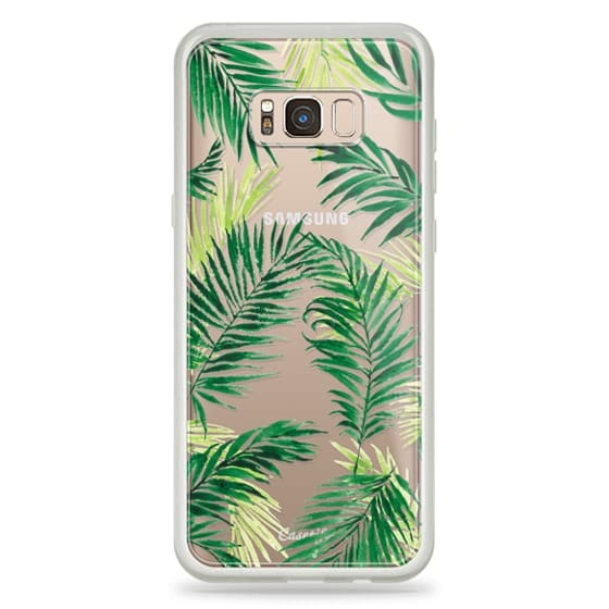 Samsung Galaxy S8 Plus Cases - Under the Palm Trees