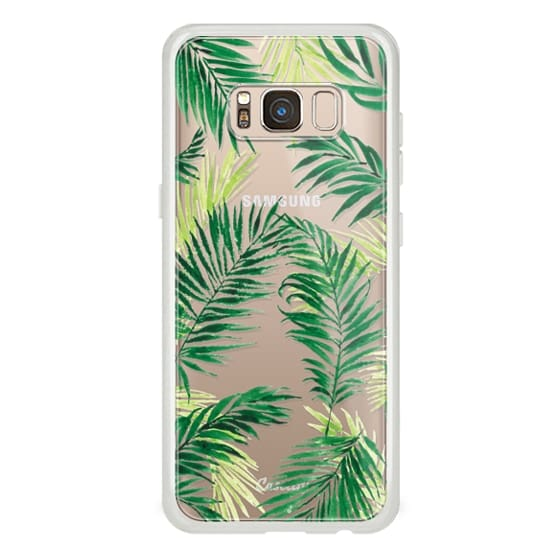 Samsung Galaxy S8 Cases - Under the Palm Trees