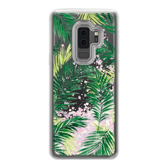 Samsung Galaxy S9 Plus Cases - Under the Palm Trees