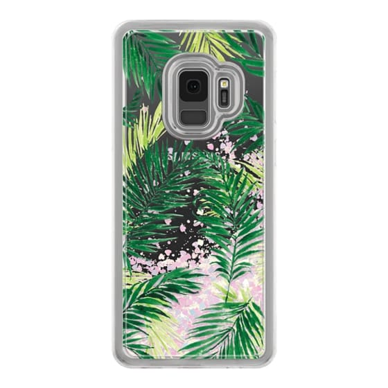 Samsung Galaxy S9 Cases - Under the Palm Trees