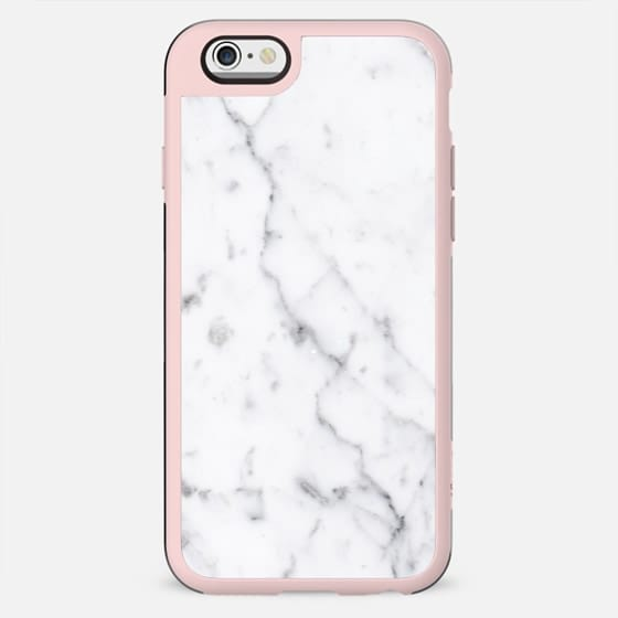 WHITE MARBLE STONE iPhone case - New Standard Case