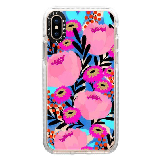 iPhone XS Cases - Anemone