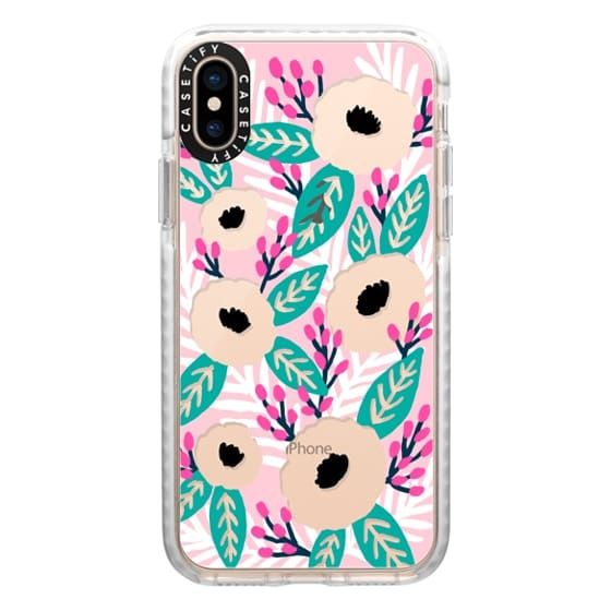 iPhone XS Cases - Blossom Party