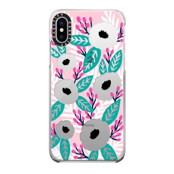 iPhone X Cases - Blossom Party