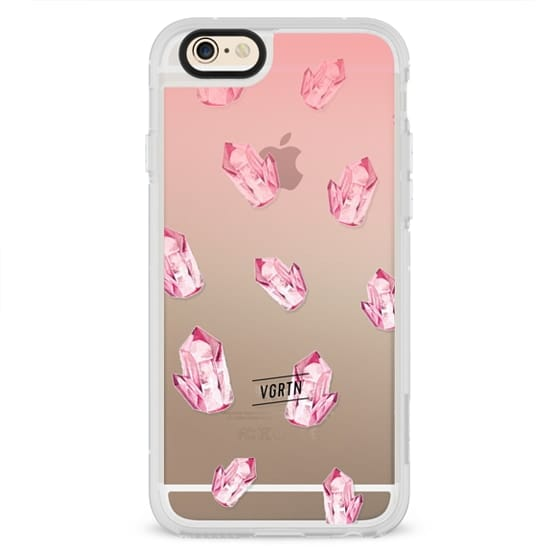 iPhone 6s Cases - VGRTN - Rose Quartz Crystal