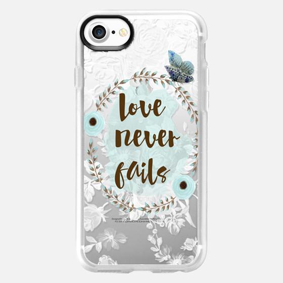 Love Never Fails - Wallet Case