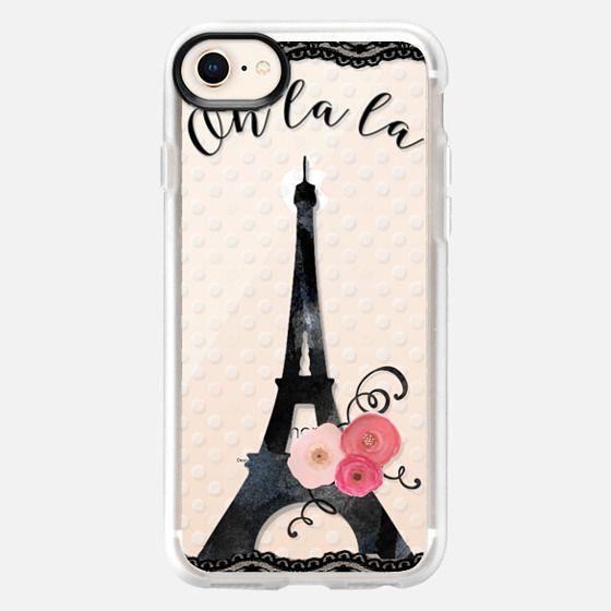 Oh la la Paris - Snap Case