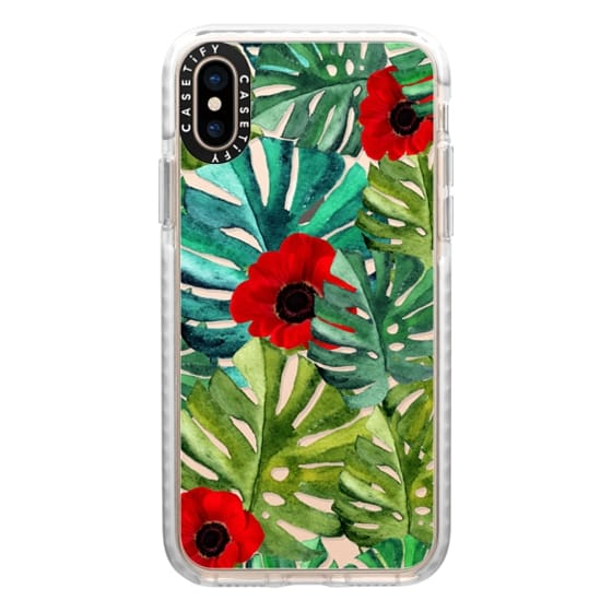 iPhone XS Cases - Tropical Vibes II
