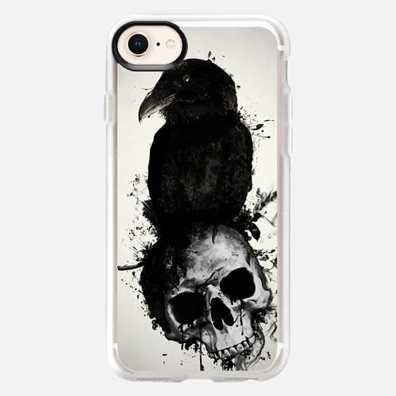 Raven and Skull - Snap Case