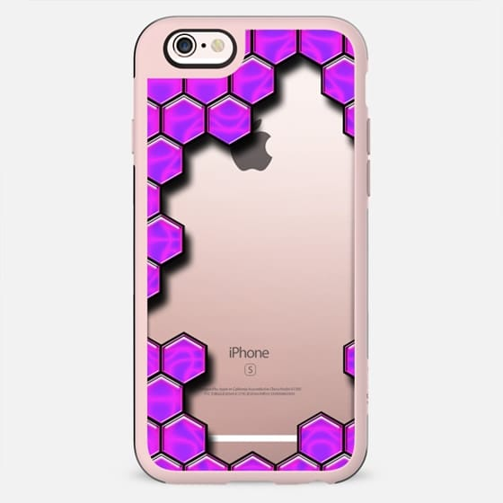 Purple Bee Pattern