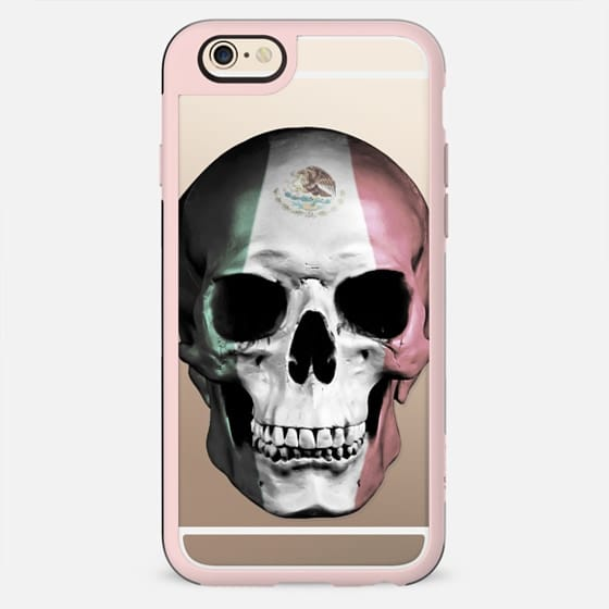 Mexican Skull - Transparent - New Standard Case