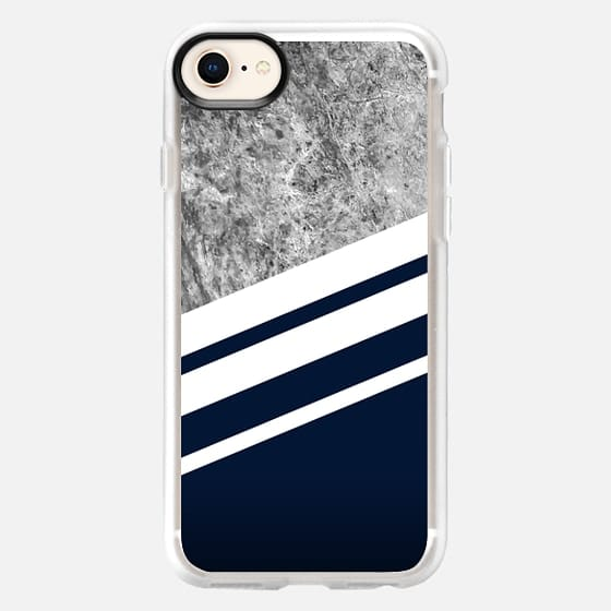 Marble Navy - Snap Case