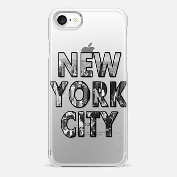 iPhone 7 Case New York City - Transparent