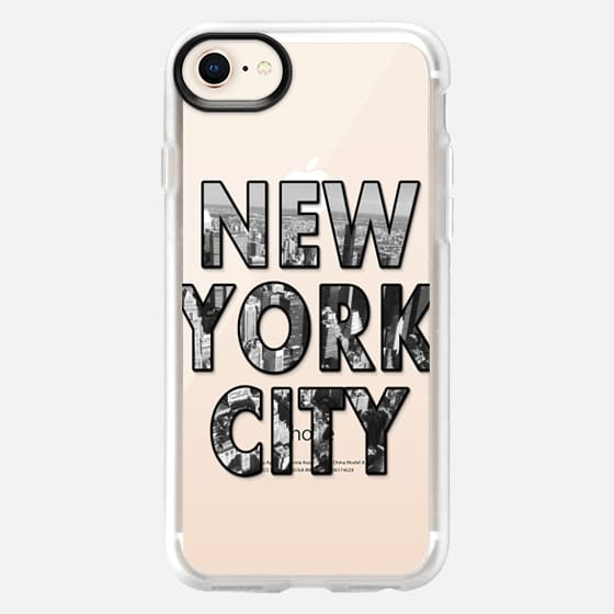 New York City - Transparent - Snap Case