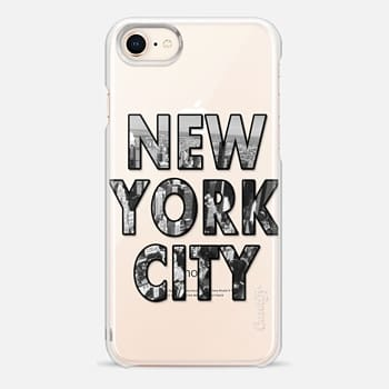 iPhone 8 Case New York City - Transparent