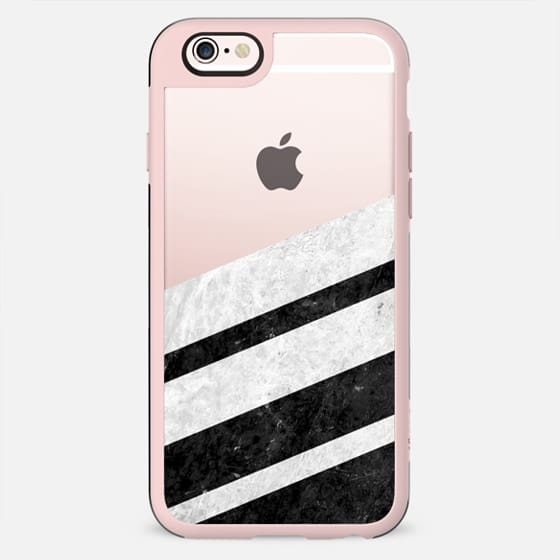 Black Striped Marble - New Standard Case