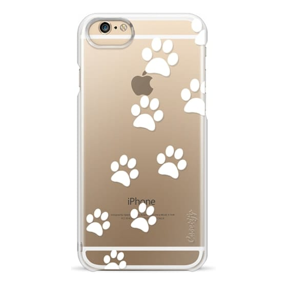 Iphone 5s Culori.Wood Iphone 6 Case Cats Paws Transparent White