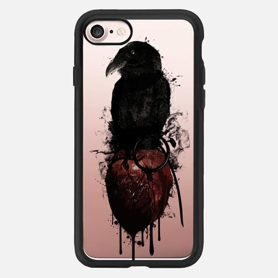 Raven and Heart Grenade - Transparent -