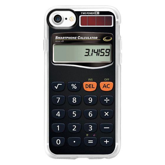 Classic Grip iPhone 7 Case - Smartphone Calculator