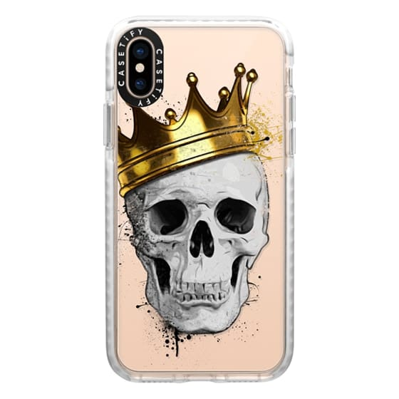 iPhone XS Cases - Royal Skull