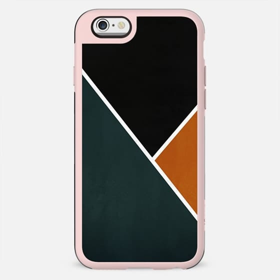 Noir Series - Forest & Orange - New Standard Case