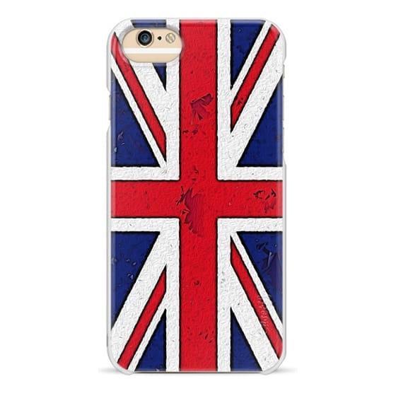 low priced 13ed3 b77b8 Wood iPhone 6 Case - Abstract Pop Art Union Jack Flag