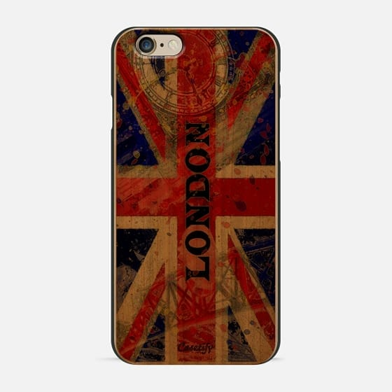London pop art retro union jack flag - New Standard Pastel Case