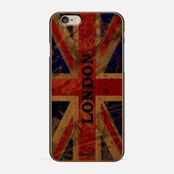 London pop art retro union jack flag -