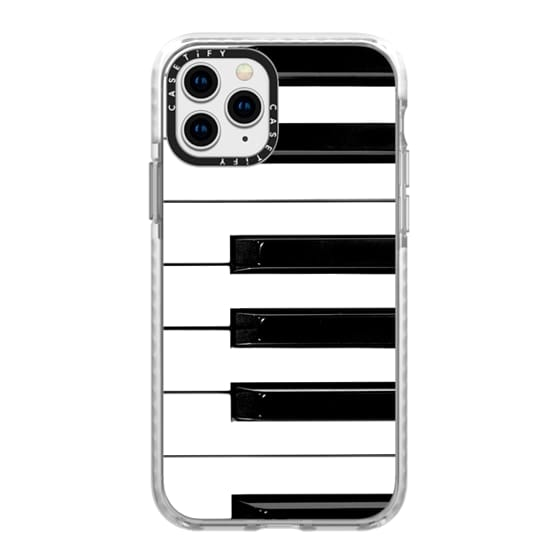 iPhone 11 Pro Cases - Musical Instrument Piano keys