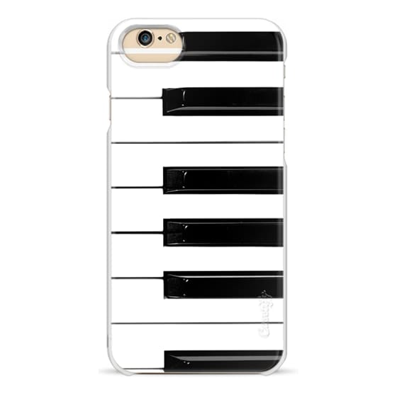 iPhone 6 Cases - Musical Instrument Piano keys