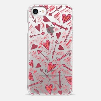 iPhone 7 Case capture my heart transparent