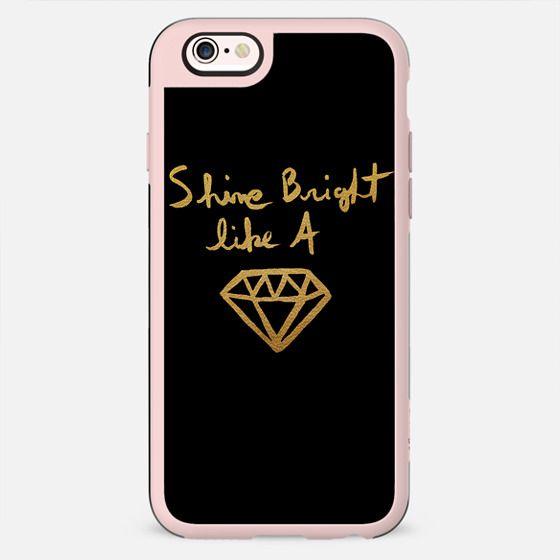 Shine black gold - New Standard Case