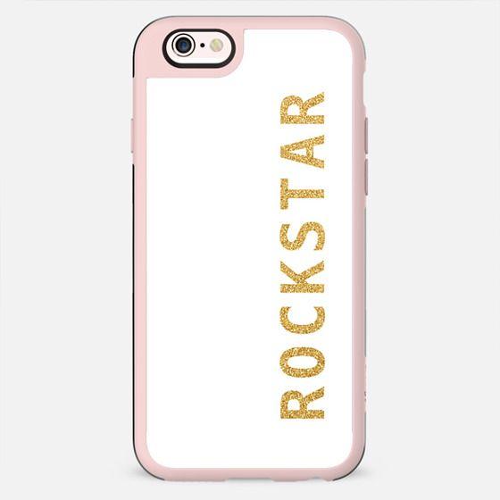 Rockstar gold glitter - New Standard Case