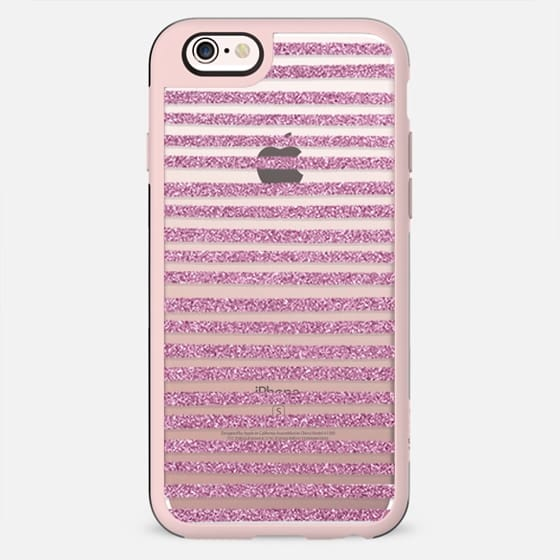 Pink Sparkle Stripes
