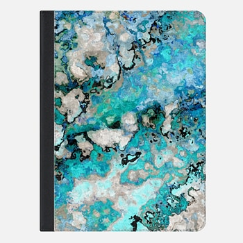 iPad Air 2 ケース Marble Art V7 iPad Case