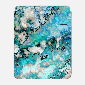"iPad Pro 12.9"" Sleeve Marble Art V7 iPad Case"