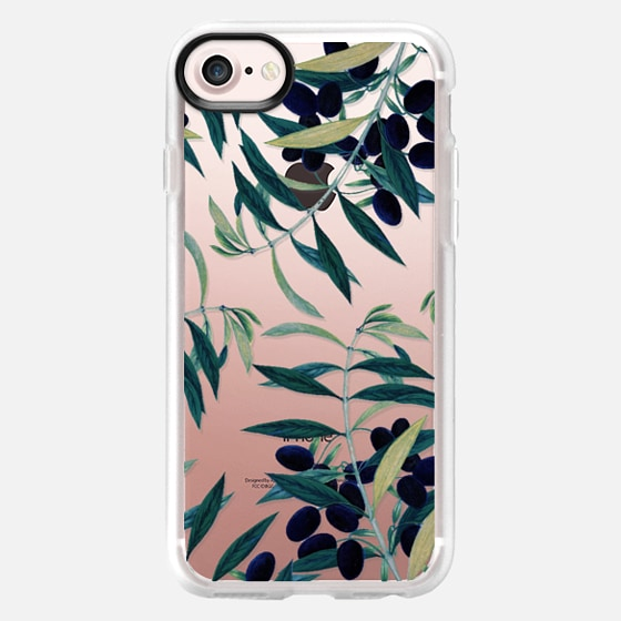 Olive Branch Pattern iPhone & iPod Case - Wallet Case