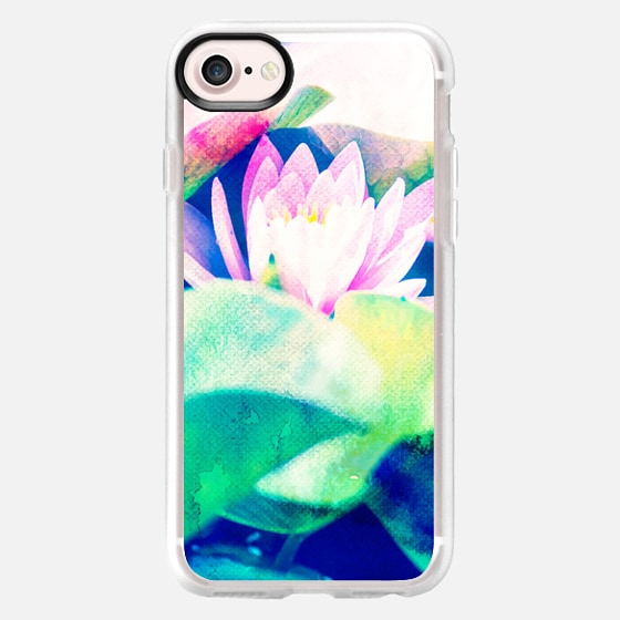 Watercolor Lotus iPhone & iPod Case - Wallet Case